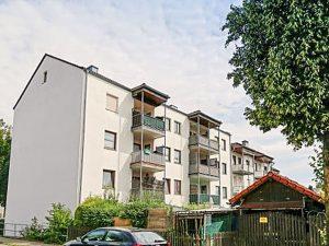Zentrumsnahe 4-Zimmer Wohnung mit Balkon