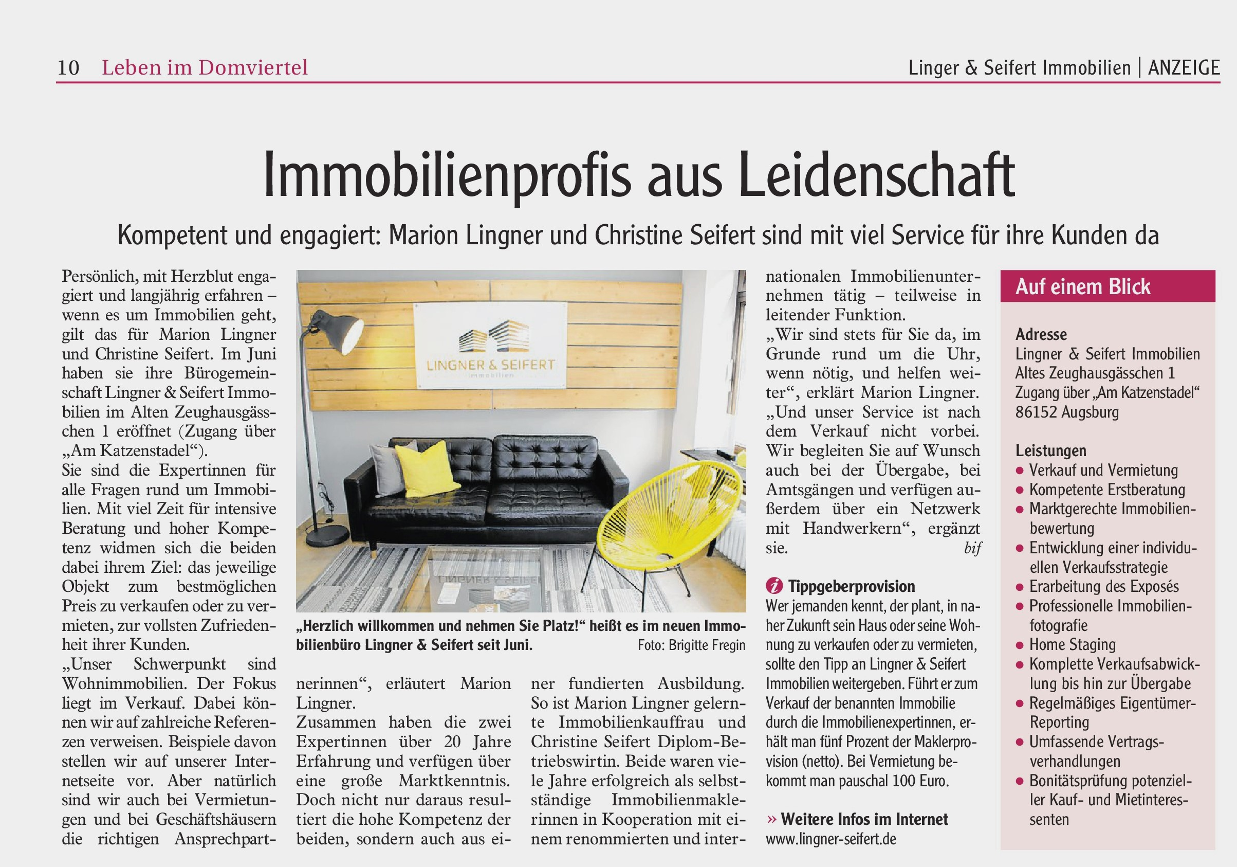 Augsburger Allgemeine vom 10.10.2019